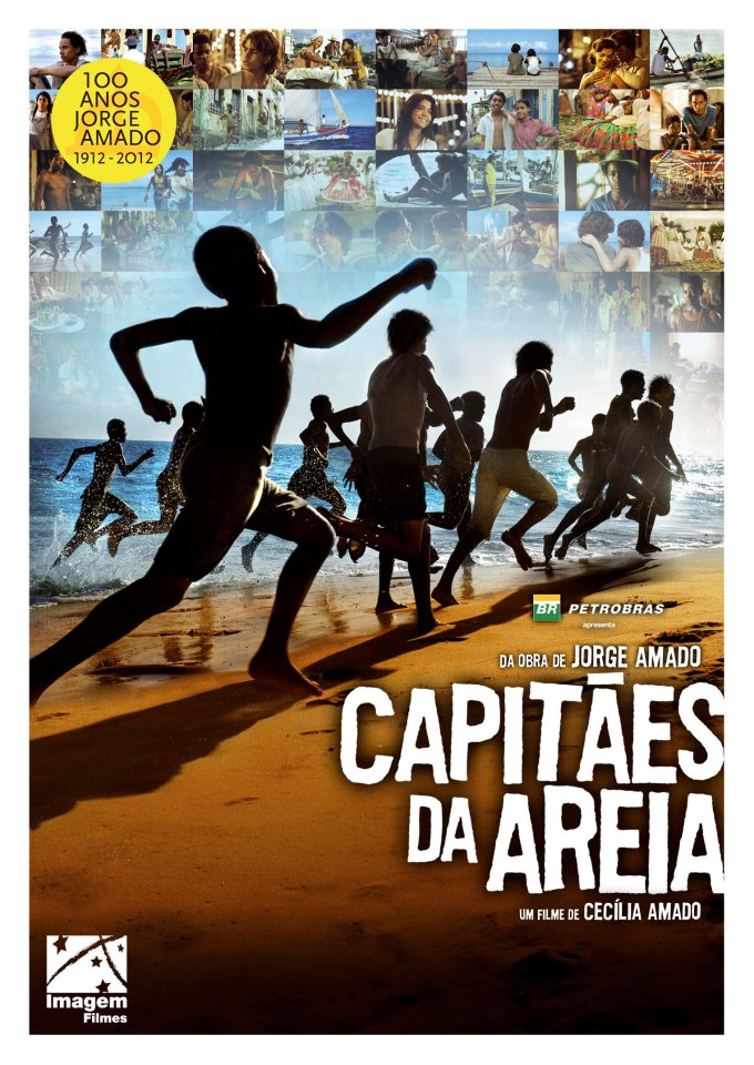 Cartaz do Filme Capitães de Areia